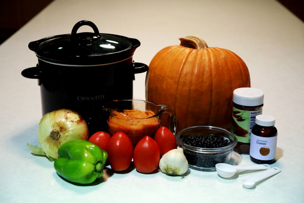Pumpkin Chili Ingredients